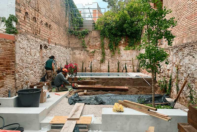 Serveis de jardineria a barcelona sverd jardineria i for Jardineria barcelona